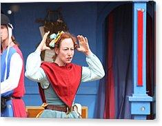 Maryland Renaissance Festival - A Fool Named O - 121217 Acrylic Print by DC Photographer