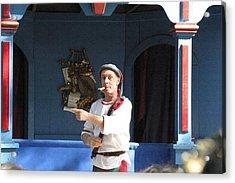Maryland Renaissance Festival - A Fool Named O - 121227 Acrylic Print by DC Photographer