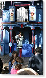 Maryland Renaissance Festival - A Fool Named O - 12123 Acrylic Print by DC Photographer