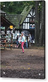 Maryland Renaissance Festival - A Fool Named O - 121231 Acrylic Print by DC Photographer