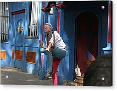 Maryland Renaissance Festival - A Fool Named O - 121235 Acrylic Print by DC Photographer