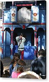 Maryland Renaissance Festival - A Fool Named O - 12124 Acrylic Print by DC Photographer