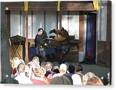 Maryland Renaissance Festival - Hack And Slash - 12129 Acrylic Print by DC Photographer