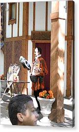 Maryland Renaissance Festival - Johnny Fox Sword Swallower - 121210 Acrylic Print by DC Photographer