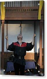 Maryland Renaissance Festival - Johnny Fox Sword Swallower - 1212115 Acrylic Print