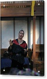 Maryland Renaissance Festival - Johnny Fox Sword Swallower - 1212118 Acrylic Print by DC Photographer