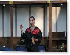 Maryland Renaissance Festival - Johnny Fox Sword Swallower - 1212121 Acrylic Print by DC Photographer