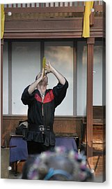 Maryland Renaissance Festival - Johnny Fox Sword Swallower - 1212125 Acrylic Print by DC Photographer