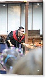 Maryland Renaissance Festival - Johnny Fox Sword Swallower - 1212127 Acrylic Print by DC Photographer