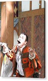 Maryland Renaissance Festival - Johnny Fox Sword Swallower - 121220 Acrylic Print by DC Photographer