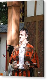Maryland Renaissance Festival - Johnny Fox Sword Swallower - 121228 Acrylic Print by DC Photographer