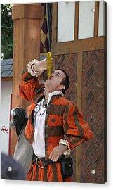 Maryland Renaissance Festival - Johnny Fox Sword Swallower - 121250 Acrylic Print