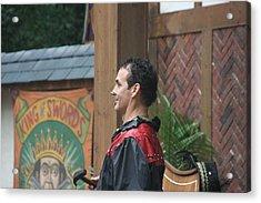 Maryland Renaissance Festival - Johnny Fox Sword Swallower - 121271 Acrylic Print by DC Photographer