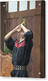 Maryland Renaissance Festival - Johnny Fox Sword Swallower - 121272 Acrylic Print by DC Photographer