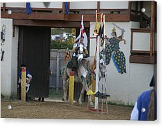 Maryland Renaissance Festival - Jousting And Sword Fighting - 121210 Acrylic Print