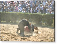 Maryland Renaissance Festival - Jousting And Sword Fighting - 1212102 Acrylic Print by DC Photographer