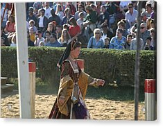 Maryland Renaissance Festival - Jousting And Sword Fighting - 1212118 Acrylic Print by DC Photographer