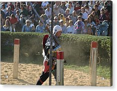 Maryland Renaissance Festival - Jousting And Sword Fighting - 1212119 Acrylic Print by DC Photographer