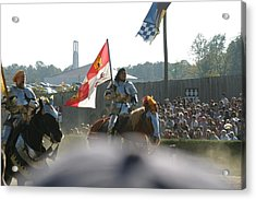 Maryland Renaissance Festival - Jousting And Sword Fighting - 1212128 Acrylic Print