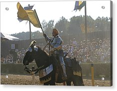 Maryland Renaissance Festival - Jousting And Sword Fighting - 1212137 Acrylic Print by DC Photographer