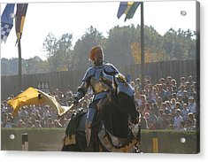 Maryland Renaissance Festival - Jousting And Sword Fighting - 1212142 Acrylic Print by DC Photographer