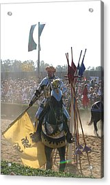 Maryland Renaissance Festival - Jousting And Sword Fighting - 1212145 Acrylic Print by DC Photographer
