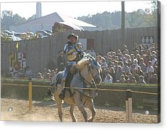 Maryland Renaissance Festival - Jousting And Sword Fighting - 1212158 Acrylic Print