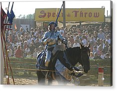 Maryland Renaissance Festival - Jousting And Sword Fighting - 1212169 Acrylic Print by DC Photographer