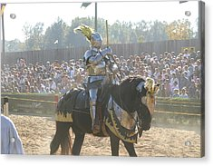 Maryland Renaissance Festival - Jousting And Sword Fighting - 1212171 Acrylic Print