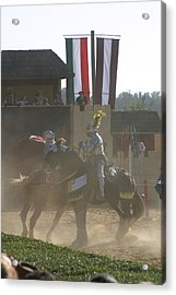 Maryland Renaissance Festival - Jousting And Sword Fighting - 1212180 Acrylic Print