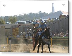 Maryland Renaissance Festival - Jousting And Sword Fighting - 1212189 Acrylic Print