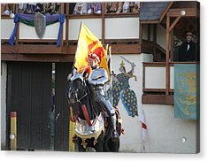 Maryland Renaissance Festival - Jousting And Sword Fighting - 121219 Acrylic Print by DC Photographer