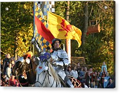 Maryland Renaissance Festival - Jousting And Sword Fighting - 121220 Acrylic Print by DC Photographer