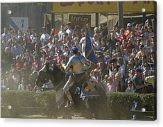 Maryland Renaissance Festival - Jousting And Sword Fighting - 1212201 Acrylic Print by DC Photographer