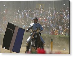 Maryland Renaissance Festival - Jousting And Sword Fighting - 1212206 Acrylic Print by DC Photographer