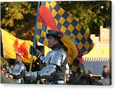 Maryland Renaissance Festival - Jousting And Sword Fighting - 121221 Acrylic Print by DC Photographer