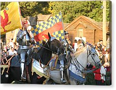 Maryland Renaissance Festival - Jousting And Sword Fighting - 121224 Acrylic Print by DC Photographer