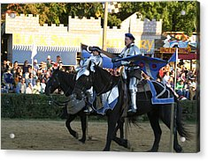 Maryland Renaissance Festival - Jousting And Sword Fighting - 121228 Acrylic Print by DC Photographer