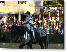 Maryland Renaissance Festival - Jousting And Sword Fighting - 121230 Acrylic Print