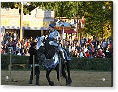 Maryland Renaissance Festival - Jousting And Sword Fighting - 121232 Acrylic Print by DC Photographer