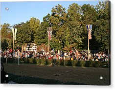Maryland Renaissance Festival - Jousting And Sword Fighting - 12124 Acrylic Print by DC Photographer