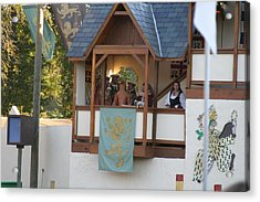Maryland Renaissance Festival - Jousting And Sword Fighting - 12125 Acrylic Print