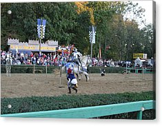 Maryland Renaissance Festival - Jousting And Sword Fighting - 121254 Acrylic Print by DC Photographer