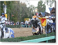 Maryland Renaissance Festival - Jousting And Sword Fighting - 121259 Acrylic Print by DC Photographer