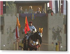 Maryland Renaissance Festival - Jousting And Sword Fighting - 121262 Acrylic Print