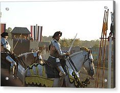 Maryland Renaissance Festival - Jousting And Sword Fighting - 121267 Acrylic Print