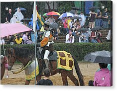 Maryland Renaissance Festival - Jousting And Sword Fighting - 121268 Acrylic Print by DC Photographer