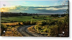 Marysville Valley Acrylic Print by Charlie Duncan