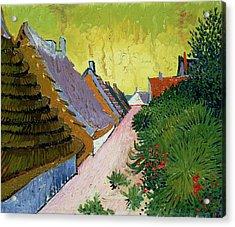 Mas At Saintes-mairies, 1888 Acrylic Print by Vincent van Gogh