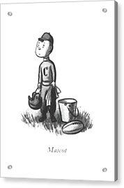 Mascot Acrylic Print by William Steig